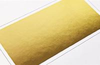 箔加工-ゴールド