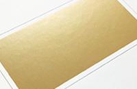箔加工-ゴールドマット