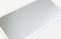 箔加工-シルバーマット
