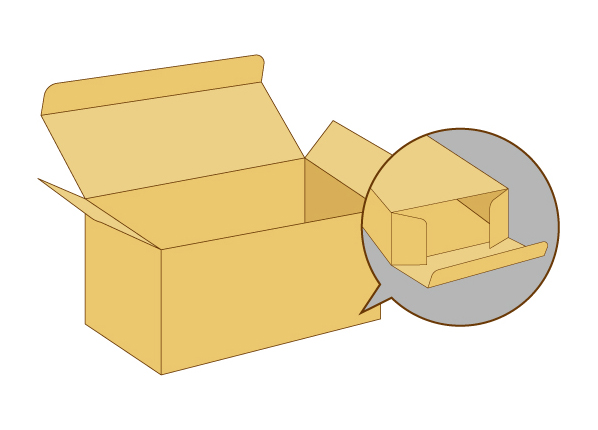 化粧箱形式-キャラメル箱タイプ/B式