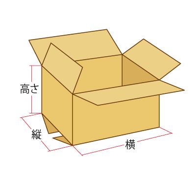 ダンボール箱サイズ